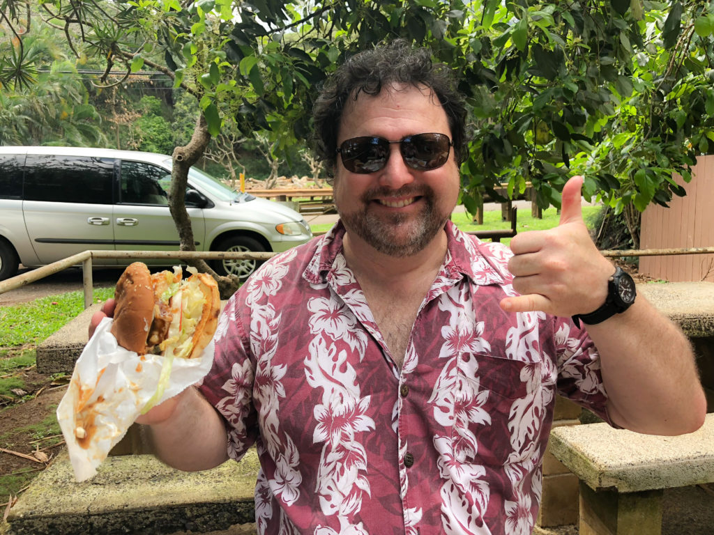 Duanes Ono Char-Burger - When You Go to Kauai Savory Travel Adventures by Steven Shomler
