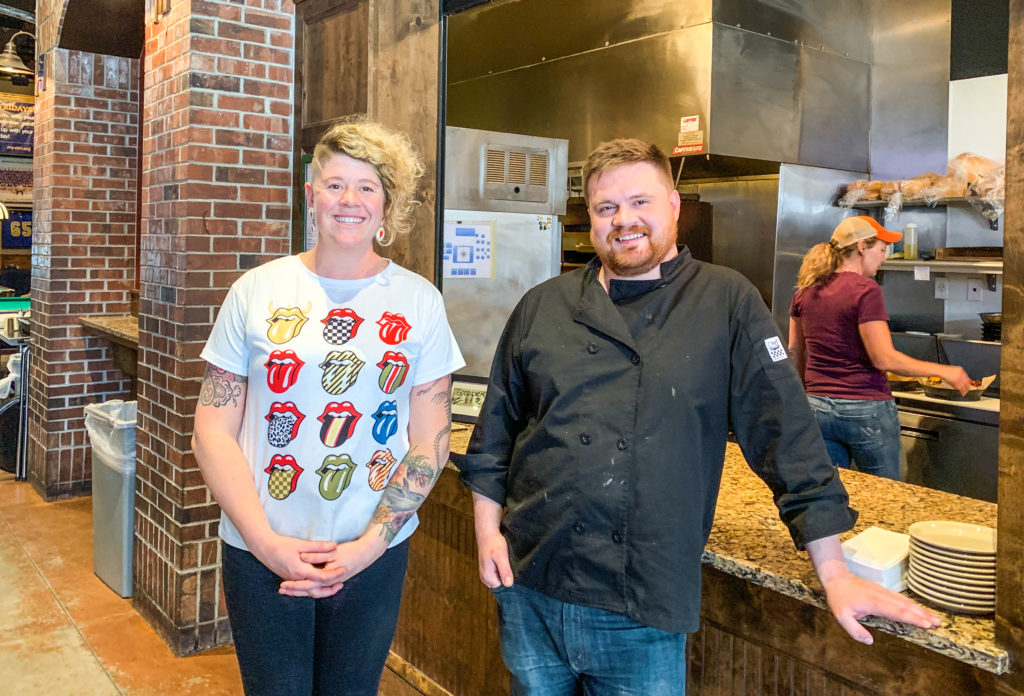 Anna Yardley & Justin Banis Hail Mary's Bozeman Montana Photos by Steven Shomler for Culinary Treasure, Savory Travel Adventures, and The Portland Culinary Podcast