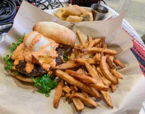 The Our Father Burger and Mexican Firecrackers – Hail Mary's Bozeman Montana